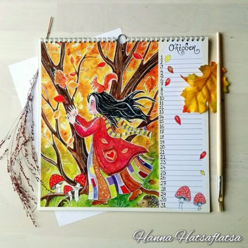 Hatsaflatsa Verjaardagskalender oktober