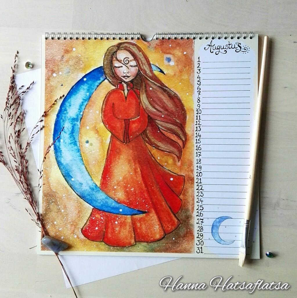 Hatsaflatsa Verjaardagskalender augustus