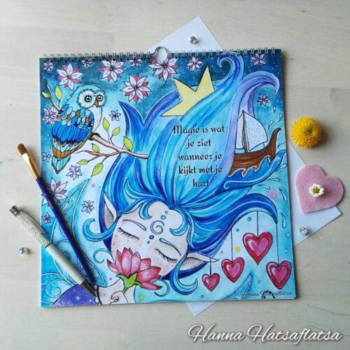 Hatsaflatsa Verjaardagskalender voorkant